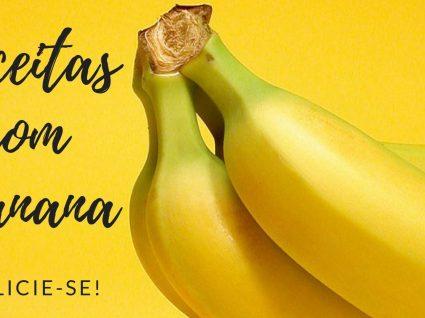 Receitas de sobremesas com banana: descubra os benefícios desta fruta