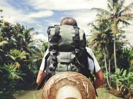 Fazer a mala para um mochilão só com bilhete de ida