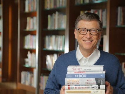 Os 5 livros recomendados por Bill Gates