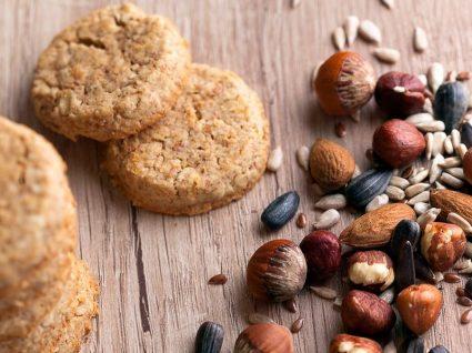 Duas receitas deliciosas de biscoitos de amêndoas