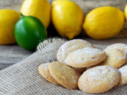 As 3 melhores receitas de biscoitos de limão