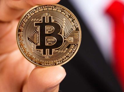 Bitcoin recuou mais de 10%