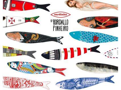 Há sardinhas fresquinhas na nova coleção da Bordallo Pinheiro