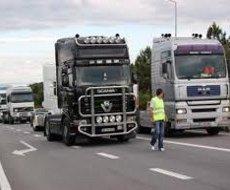 Greve dos camionistas causa impacto