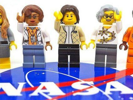 Lego homenageia mulheres da NASA