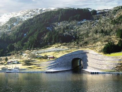 Noruega vai ter o primeiro túnel para navios