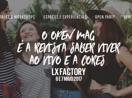 Open Mag vai agitar o Lx Factory já em maio