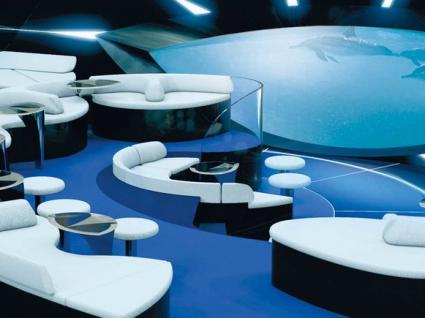 Imagina-se a beber um copo neste lounge subaquático?