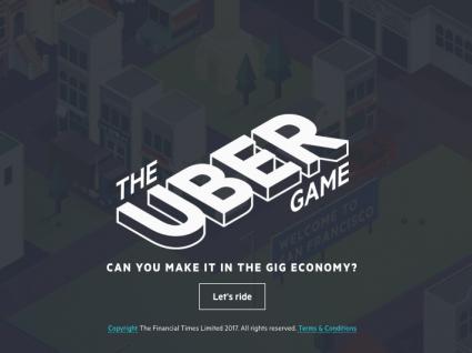 The Uber Game: como é ser motorista da Uber?