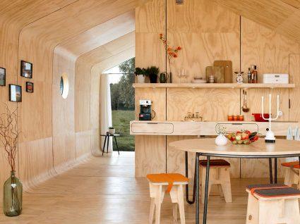 Quer morar numa casa de papelão?