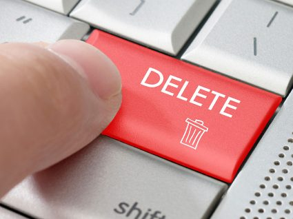Como apagar ficheiros definitivamente