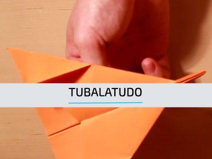 Como fazer um avião de papel passo a passo