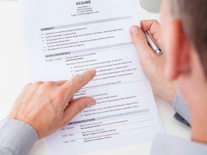 Competências, prémios e interesses no CV