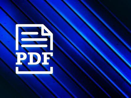 Formas de converter um pdf