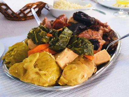 Prato com cozido à portuguesa