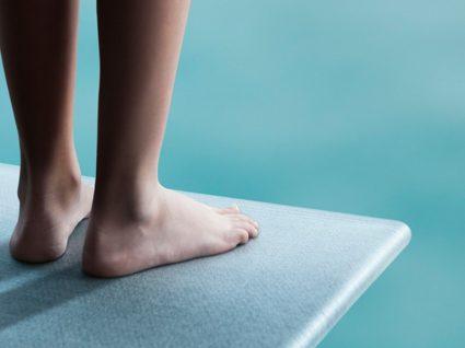 Cuidado a mergulhar: a sua coluna agradece