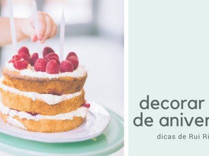 Dicas de blogger para decorar bolo de aniversário (e receita)