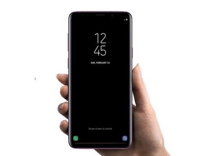 Samsung Galaxy S9 com problemas no ecrã