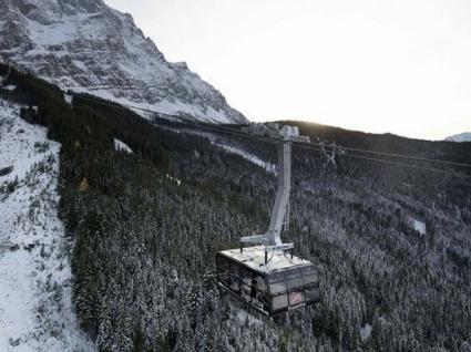 Estes teleféricos nos Alpes da Bavária são incríveis