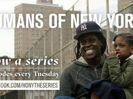 Agora, Humans of New York é também uma série