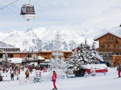 A Courchevel 1850 é o melhor resort de luxo para quem gosta de esquiar