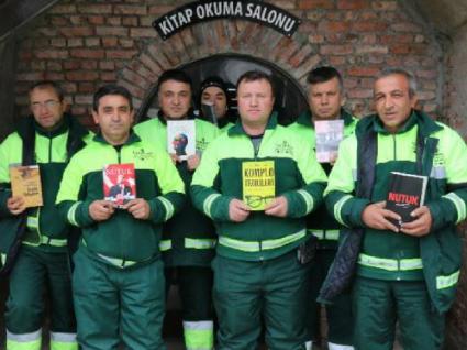 Na Turquia há uma nova biblioteca que nasceu do lixo