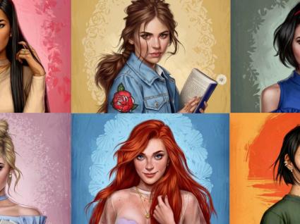 E se as princesas da Disney fossem mulheres de verdade?