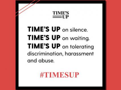 Time's Up quer pôr fim ao assédio sexual nos EUA