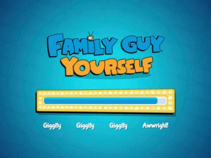 Quem quer ser uma personagem de Family Guy?