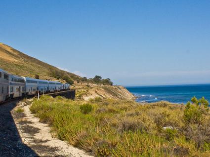 De comboio pela costa oeste dos Estados Unidos. Parece-lhe bem?