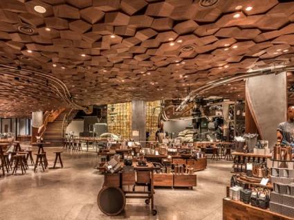 O maior Starbucks de sempre abre em Xangai