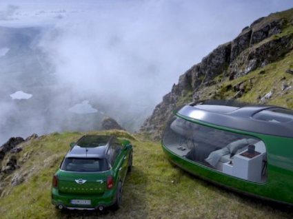 Quer acampar numa cápsula inspirada no Mini Cooper?