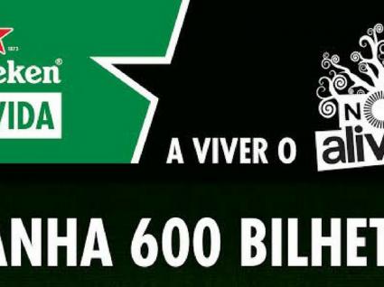 Heineken está a oferecer 600 bilhetes para o NOS Alive