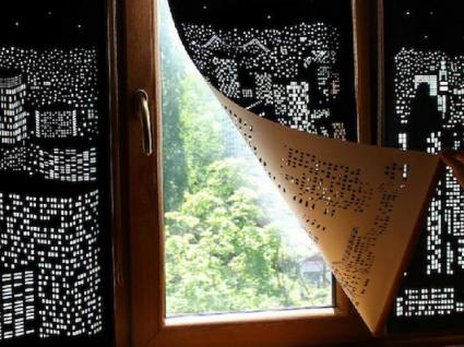 Estas cortinas criativas vão transportá-lo para outros lugares