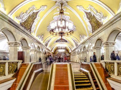 Como deslocar-se em Moscovo