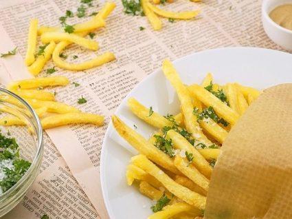 7 passos para ter batatas fritas estaladiças em casa
