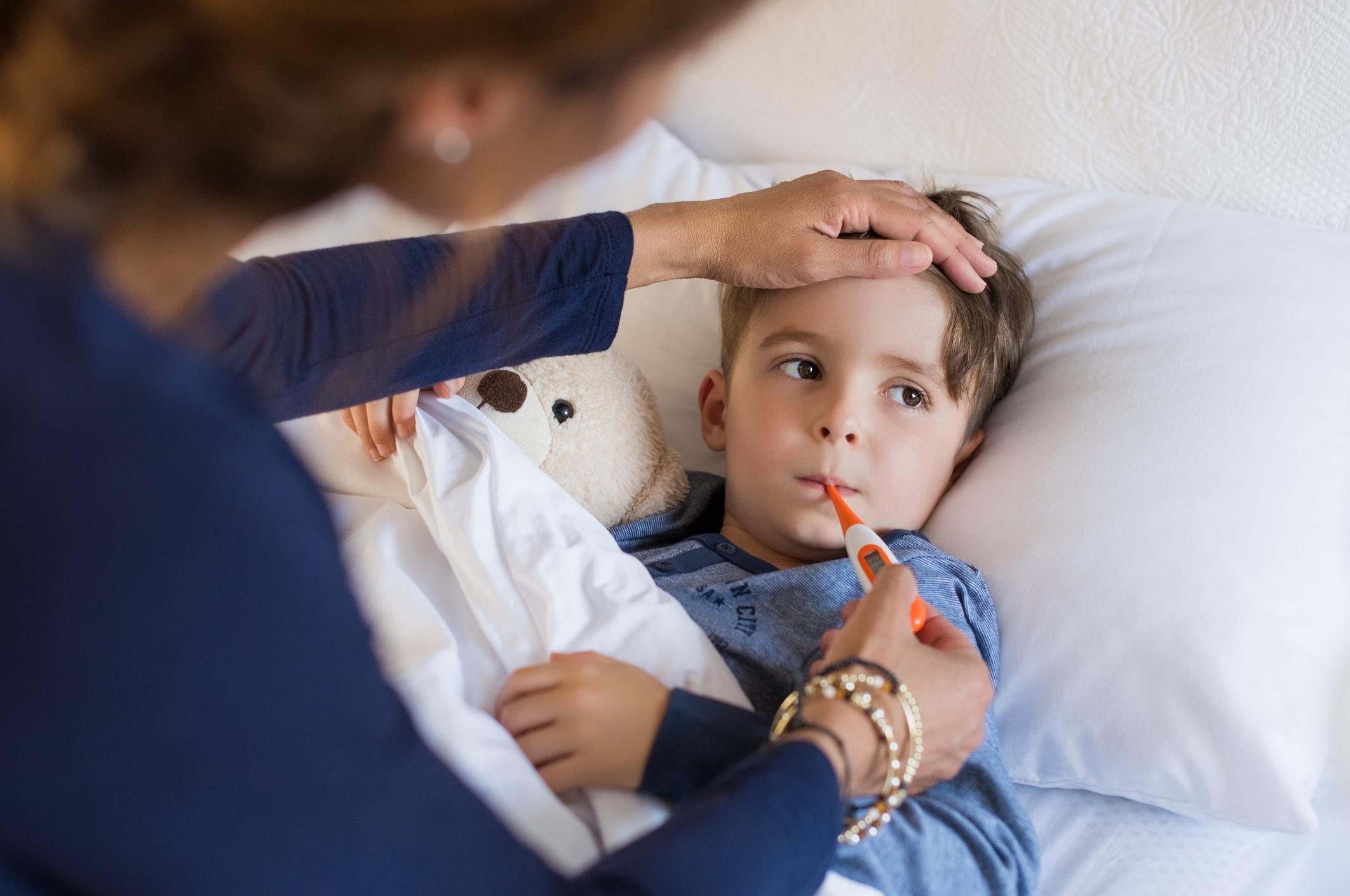 COVID-19 e sintomas raros em crianças