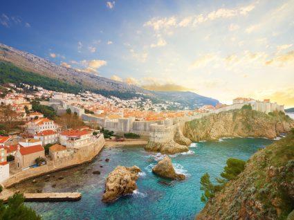 Dobrando as esquinas de Dubrovnik