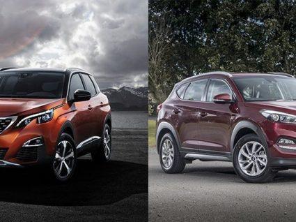 Peugeot 3008 vs Hyundai Tucson: qual o melhor SUV?