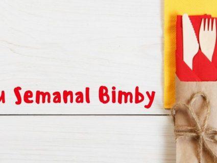 Menu semanal Bimby