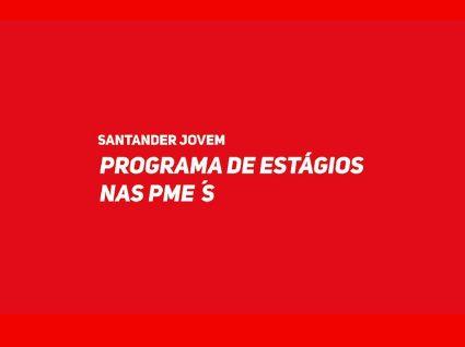 Santander promove programa de estágios remunerados