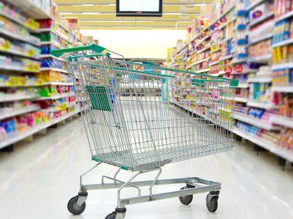 Espreite este leilão e poupe no supermercado durante um ano