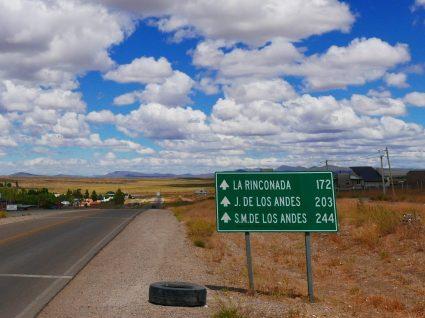 Estrada fora pela Argentina