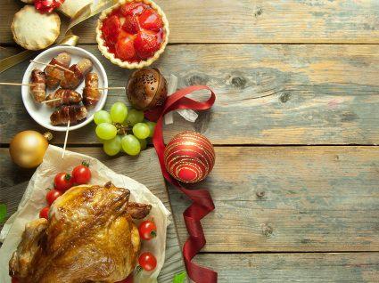 Como evitar ou remediar os excessos alimentares no Natal