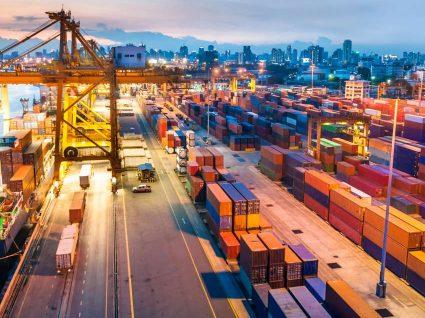 Exportações aumentam a um ritmo menor que as importações