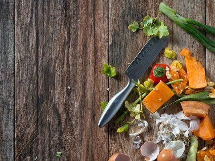 Partes de 7 alimentos que não deve deitar fora