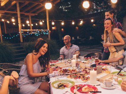 6 ideias para jantares ao ar livre incríveis