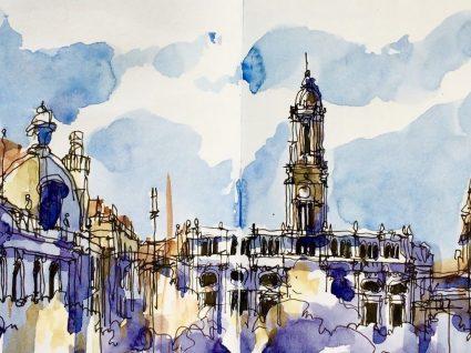 Urban Sketchers chega pela primeira vez ao Porto