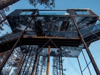 Os 10 melhores hotéis estilo casa na árvore