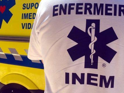Todos os concelhos de Portugal continental com ambulância do INEM